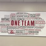 One team collage