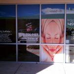 Massage window panels
